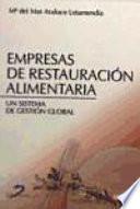Libro de Empresas De Restauración Alimentaria