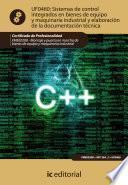 Libro de Sistemas De Control Integrados En Bienes De Equipo Y Maquinaria Industrial Y Elaboración De La Documentación Técnica. Fmee0208