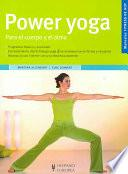 Libro de Power Yoga