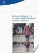 Libro de La Repetición De Curso En La Educación Obligatoria En Europa: Normativa Y Estadística