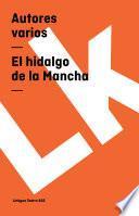Libro de El Hidalgo De La Mancha