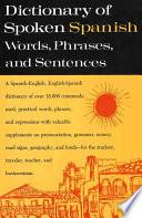 Libro de Dictionary Of Spoken Spanish