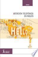Libro de Atención Telefónica En Inglés