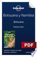Libro de Botsuana Y Namibia 1. Botsuana