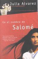 Libro de En El Nombre De Salomé
