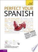 Libro de Perfect Your Spanish