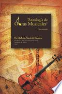 Libro de Antología De Obras Musicales