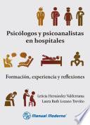 Libro de Psicólogos Y Psicoanalistas En Hospitales