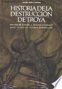 Libro de Historia De La Destrucción De Troya