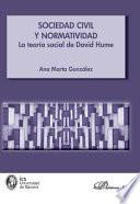 Libro de Sociedad Civil Y Normatividad. La Teoría Social De David Hume