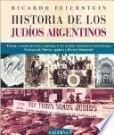Libro de Historia De Los Judíos Argentinos