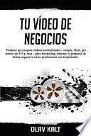 Libro de Tu Vídeo De Negocios