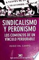 Libro de Sindicalismo Y Peronismo