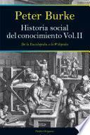 Libro de Historia Social Del Conocimiento