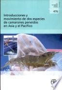 Libro de Introducciones Y Movimiento De Dos Especies De Camarones Peneidos En Asia Y El Pacífico