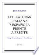 Libro de Literaturas Italiana Y Española Frente A Frente