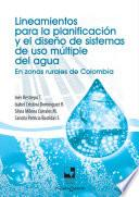 Libro de Lineamientos Para La Planificación Y El Diseño De Sistemas De Uso Múltiple Del Agua