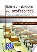 Libro de Deberes Y Derechos Del Profesorado Y De La Comunidad Educativa