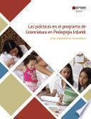 Libro de Las Prácticas En Le Programa De Licenciatura En Pedagogía Infantil