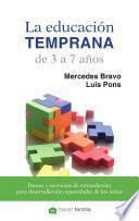 Libro de La Educación Temprana De 3 A 7 Años