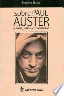 Libro de Sobre Paul Auster