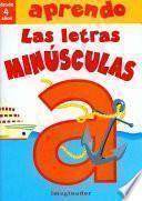 Libro de Aprendo Las Letras Minusculas / I Learn The Lowercase Letters
