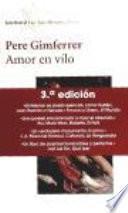 Libro de Amor En Vilo
