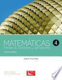 Libro de Matemáticas 4