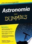 Libro de Astronomía Para Dummies