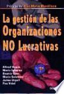 Libro de La Gestión De Las Organizaciones No Lucrativas