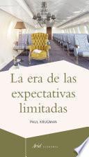 Libro de La Era De Las Expectativas Limitadas