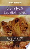 Libro de Biblia No.9 Español Inglés