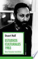 Libro de Estudios Culturales 1983