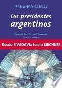 Libro de Los Presidentes Argentinos