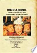Libro de Ibn Gabirol