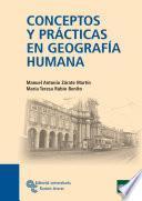 Libro de Conceptos Y Prácticas En Geografía Humana