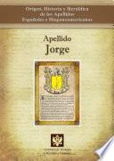 Libro de Apellido Jorge