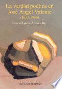 Libro de La Verdad Poética De José Ángel Valente
