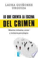Libro de Lo Que Cuenta La Escena Del Crimen