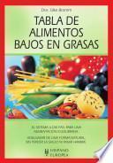Libro de Tabla De Alimentos Bajos En Grasas