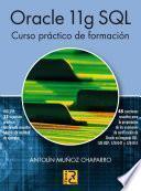 Libro de Oracle 11g Sql. Curso Práctico De Formación
