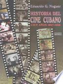 Libro de Historia Del Cine Cubano