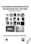 Libro de Congresos Panamericanos De Arquitectos 1920 2000