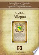 Libro de Apellido Allepuz