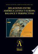 Libro de Relaciones Entre América Latina Y Europa