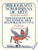 Libro de Bibliografía Novohispana De Arte