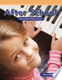Libro de Después De La Escuela (after School)