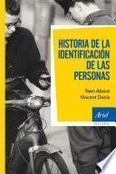 Libro de Historia De La Identificación De Las Personas