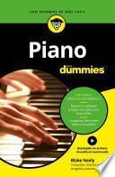 Libro de Piano Para Dummies