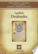 Libro de Apellido Deulonder